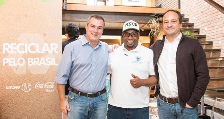 Ambev e Coca-Cola Brasil se juntam em novo programa de reciclagem